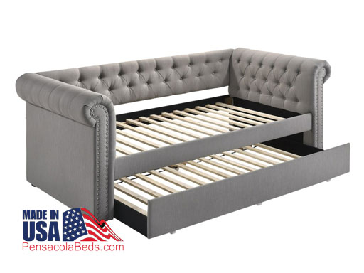 Bed trundle day bed