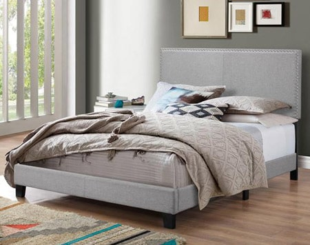 Upholstered Bed with headboard