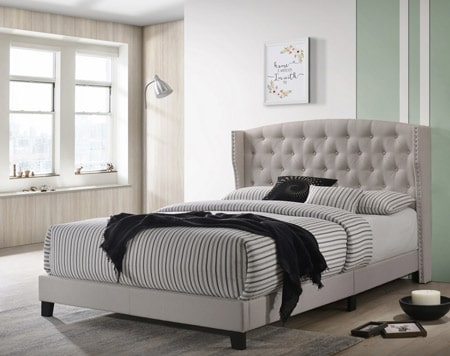Upholstered Bed RM70