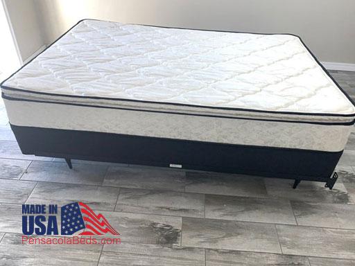 Comfort model pillow top mattress