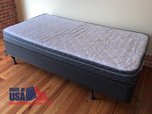 Twin XL mattress euro top